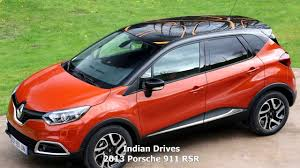 new car suv launches in india 20142014 Renault Captur SUV  First Look  YouTube