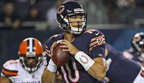 Chicago Bears Depth Chart 2017 Mitch Trubisky Named Backup On The Chicago Bears