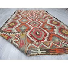 kilim area rugs handwoven vintage turkish kilim area rug 410 85 kilim rugs