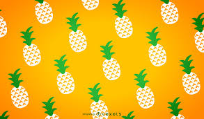 Pineapple Pattern Delectable Illustrated Seamless Pineapple Patterns Vector Download