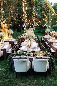 outdoor event decoration ideas outdoor rustic wedding reception ideas with hanging lights home design