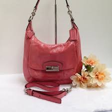 Coach Kristin Pat Leather Hobo Conv Style 19299