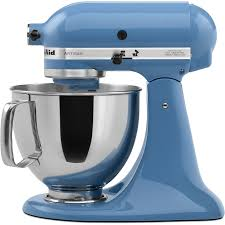 kitchenaid artisan series 5 quart 10 sd cornflower blue countertop stand mixer