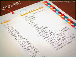 Table Of Contents Design Pinterest Table Of Contents For Bullet Journal Bullet Journal Index