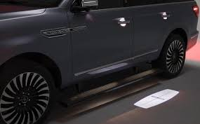 2018 lincoln van. brilliant 2018 the 2018 navigator projects a light with the lincoln cross emblem on  ground to welcome its driver to lincoln van y