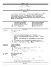 Bookkeeper Cv Example For Accounting Finance | Livecareer