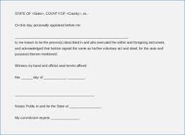 notarized letter sample of notarized letter format speakeasymedia co