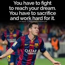 lionel messi about football quote