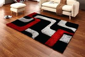 red and black area rugs red and black rug large size of living red rug red