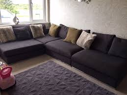 corner sofa dwell oban modular charcoal 4 seater in southside