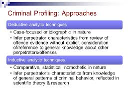 simon fraser university psyc professor ronald roesch ppt  26 criminal profiling approaches