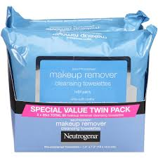 neutrogena makeup remover cleansing towelettes 50 count