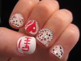 Chinese New Year 2014 nail tutorial - YouTube