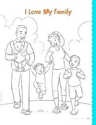 Family Coloring Pages My Page I Love Guy Sheets Holy Printable