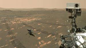 LISTEN: First images, then video, now sound of a helicopter on Mars