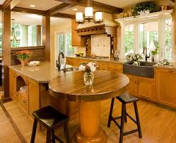 traditional brown wooden kitchen cabinet