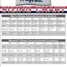 Majestic Jacket Size Chart Majestic Athletic Jersey Size Chart Nwt