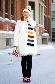winnipeg style chicwish snow white faux fur cream white coat the bay hudson bay