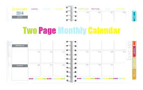 Mini Calendar Template 2014 Planner Monthly Indemo Co