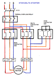 contactor overload wiring diagram how to wire a contactor for a 3 Wiring Diagram Of Magnetic Contactor star delta starter electrical notes & articles contactor overload wiring diagram the star contactor contactor and circuit diagram of magnetic contactor