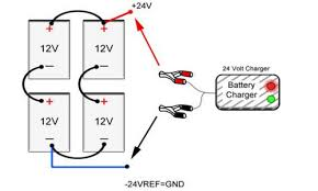 how to install a third battery to a two battery boat system 24 volt trolling motor wiring with charger at 24 Volt Onboard Charger Wiring Diagram