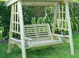 garden swing with canopy garden swing bench