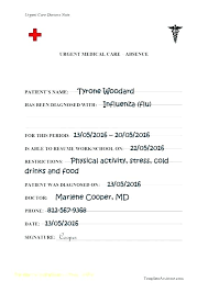 Free Fake Doctors Note Work Fake Doctors Note Uk Template Fake Doctors Note Notes To Excuse Your