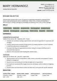 Ms Word Template Resume 40 Modern Resume Templates Free To Download Resume Genius