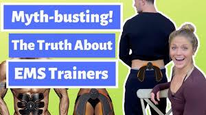 Myth-Busting: The Truth About <b>EMS Trainers</b>! <b>EMS</b> Butt <b>Trainer</b> ...
