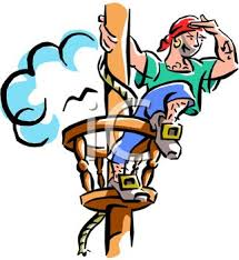 Lookout Pirate Clipart