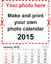 custom calendar templates photo calendar 2015 free printable pdf templates