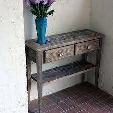 distressed entry table. large-size of stylized furniture small entry tables and amerock for table design ideas distressed