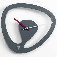 progetti seven wall clock grey