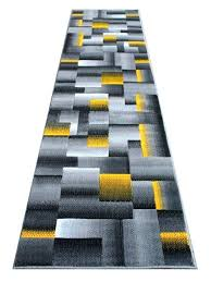 yellow and grey rug runners modern foot runner rug yellow grey black inch photo yellow gray yellow and grey rug runners