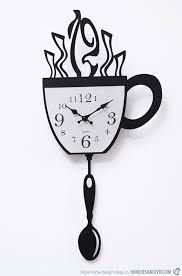 15 excellent designs of simple designer kitchen wall clocks home