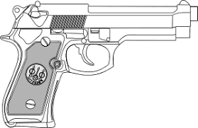 9 Mm Gun Png Svg Clip Art For Web Download Clip Art Png Icon Arts