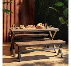westwood outdoor garden wooden bench
