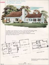 Midcentury Colonial Cape Cod   National Plan Service Home    National Plan Service Plan E