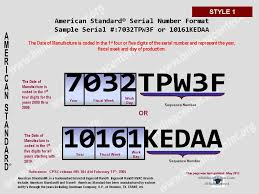 american standard furnace model numbers. Plain Standard Description Style 1 Nine 9 Character Serial Number Begins With Four 4  Numerical Digits And Ends Five 5 Mixed Letters  To American Standard Furnace Model Numbers C