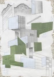 Jamie Roche Graphite Pencil Disperse Paper Graph Paper Book