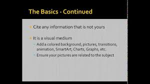 Displaying Your Research Creating An Apa Style Ms Powerpoint Presentation 882013