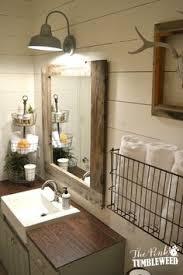 farmhouse bathroom ideas. 15 Farmhouse Style Bathrooms Full Of Rustic Charm - Making It In The Mountains Bathroom Ideas O