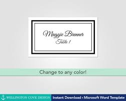 Diy Wedding Place Cards Template Name Cards Escort Cards Etsy
