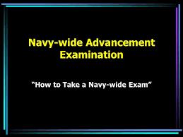 Navy Wide Advancement Examination Ppt Video Online Download