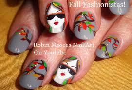 Robin Moses Nail Art: Fall Fashionistas! Fall nail design ...
