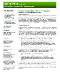 Resume Template Resume Sample Architect Free Career Resume Template