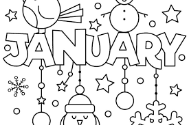 new year january coloring pages printable fun to help kids welcome 2018