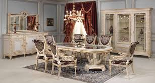 pics of dining room furniture. Luxury Classic Dining Room Louis XVI White And Gold | Vimercati Furniture Pics Of