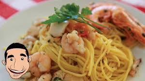 Italian Seafood Pasta Recipe (Spaghetti ...