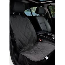 barksbar front seat cover black small